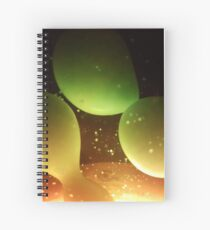 Separation of Wax Spiral Notebook