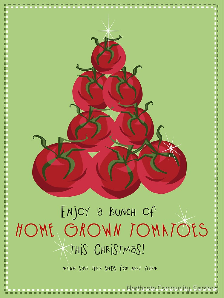 Christmas tomatoes by Northcote Community  Gardens