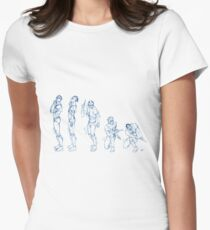 Kando Sequential Women's Fitted T-Shirt
