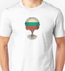 Tree of Life with Bulgarian Flag T-Shirt