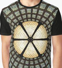 Stain-glass Window Graphic T-Shirt