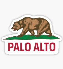 Palo Alto, California Sticker