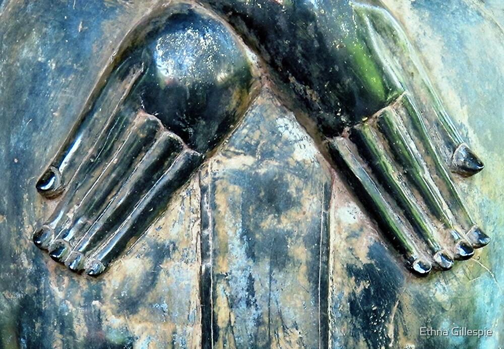 Buddha's Hands  by Ethna Gillespie