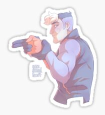 "Shiro ""Blam!"" Sticker"