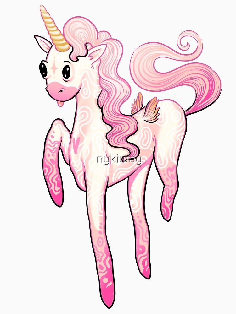 Super Cool Pink Unicorn de nykiway