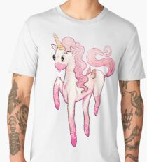 Super Cool Pink Unicorn Men's Premium T-Shirt