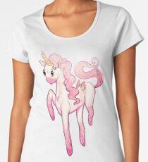 Super Cool Pink Unicorn Women's Premium T-Shirt