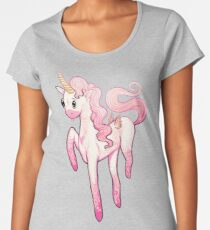Super Cool Pink Unicorn Women's Premium T-Shirt