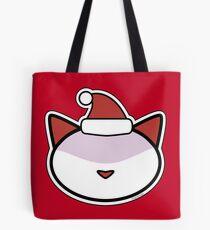 Meow Santa Clause Tote Bag