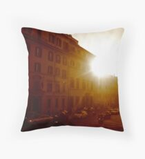 rome-ing - II Throw Pillow