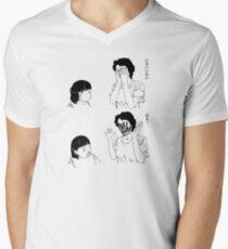Shintaro – Peek-a-boo Men's V-Neck T-Shirt