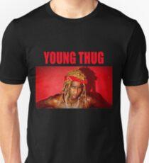 Junge Thug-Auswirkungen Name Grafik Slim Fit T-Shirt