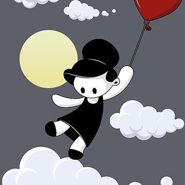 Love balloon by arnoway