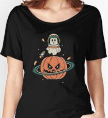 Pumpkin Planet Women's Relaxed Fit T-Shirt