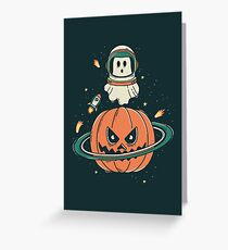 Pumpkin Planet Greeting Card