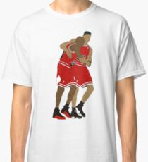 Michael Jordan And Scottie Pippen Classic T-Shirt