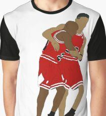 Michael Jordan And Scottie Pippen Graphic T-Shirt