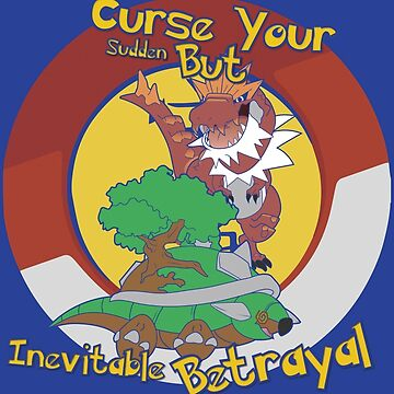 Curse Your Pokemon Betrayal  by JBrandtDesign