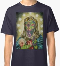 Blessed Reptilian Virgin and Child Classic T-Shirt