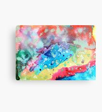 Figurative, abstract landscape Metal Print