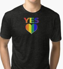 yes vote in marriage equality Tri-blend T-Shirt
