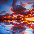 Abstract Sunset by ScenicViewPics