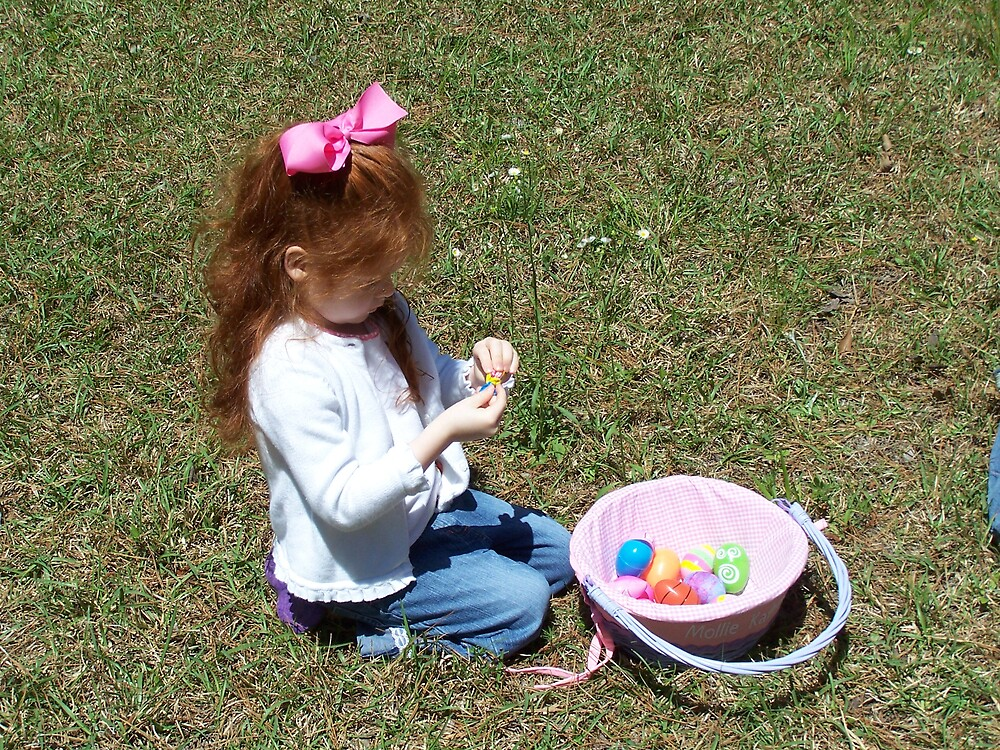 Easter with Molly by strickjr