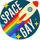 Space Gay by katrinawaffles