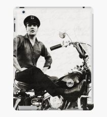 Elvis Presley Motorcycle iPad Case/Skin