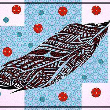 Tribal Feather by joche