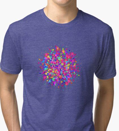 Color explosion Tri-blend T-Shirt