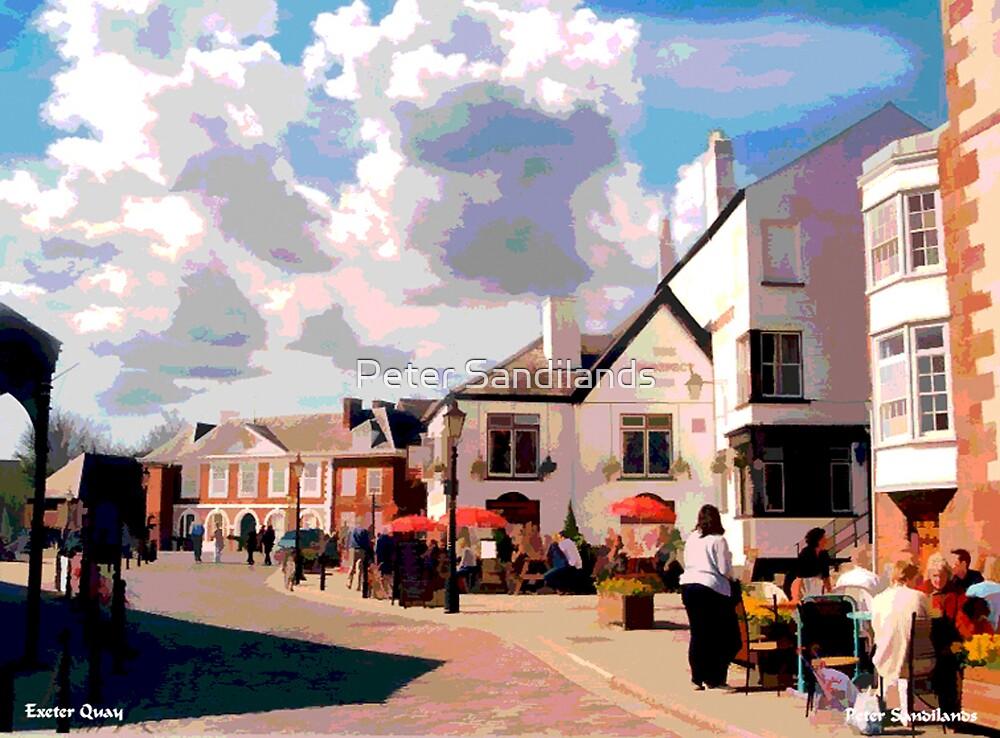 Exeter Quay, Devon by Peter Sandilands