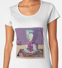 Meditator Women's Premium T-Shirt