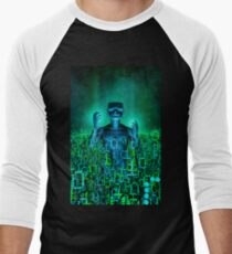 Virtual Dawn Men's Baseball ¾ T-Shirt