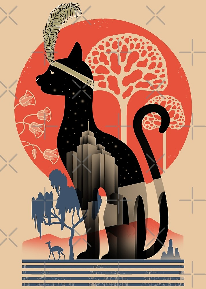 Cat Deco by vincenttrinidad