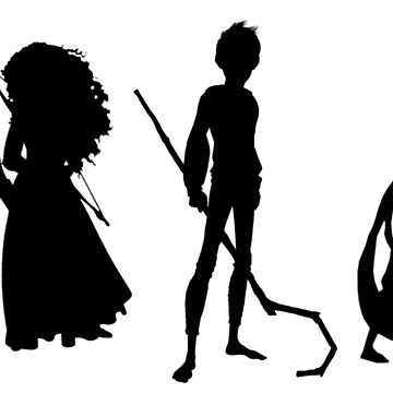The Big Four - Silhouettes by olivehigham