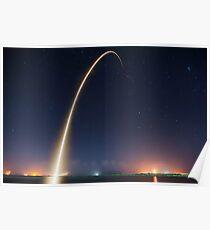 Spacex Falcon 9 Raketenstart Poster