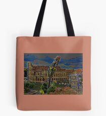 Colosseum from the Palatino Tote Bag