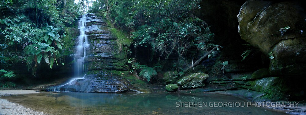 Leura's Famous Pool of Siloam by STEPHEN GEORGIOU PHOTOGRAPHY