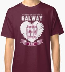 All Ireland Hurling Champions: Galway (Maroon/White) Classic T-Shirt