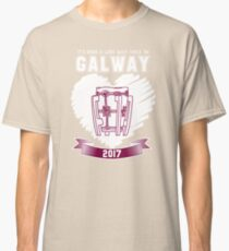 All Ireland Hurling Champions: Galway (Maroon/White) Classic T-Shirt