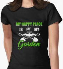 Funny T-shirt For Gardening Lovers, Awesome  Gifts For Gardener Women's Fitted T-Shirt