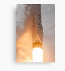 Spacex Rocket Metal Print