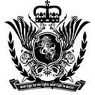 « muse knights of cydonia heraldic » par clad63