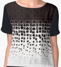 Be at Peace Not in Pieces Chiffon Top