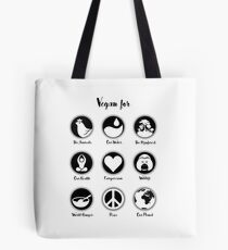 VEGAN for ... Tote Bag