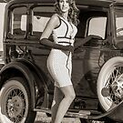 Model in Sepia by Shaun Colin Bell