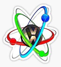 VW Atom Sticker
