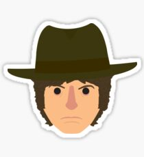 Fourth Doctor head Sticker