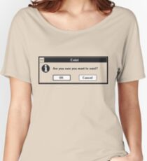 Basic Existentialism I Women's Relaxed Fit T-Shirt